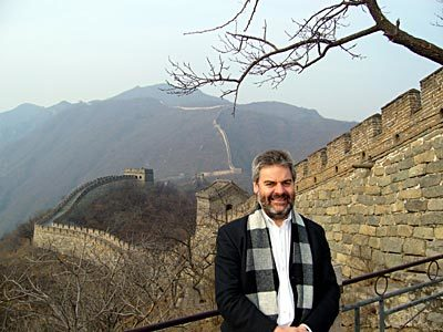 Michael Dodd in China
