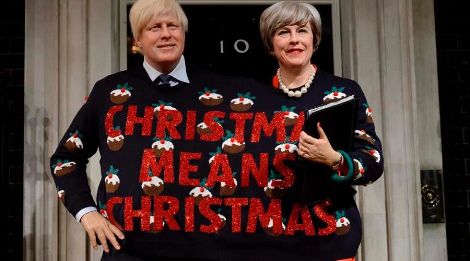 "Festive Message: ""Christmas Means Christmas"""